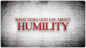 What God Says About Humility