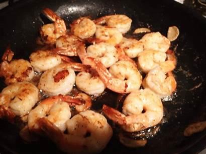 Delicious Nom Yummy Seafood Shrimp Prawn Meal