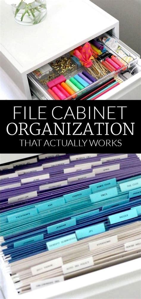 file cabinet organization organizing  style polished