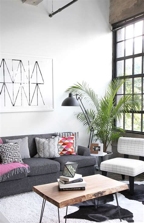10 Industrial Decor Living Room Ideas My studio