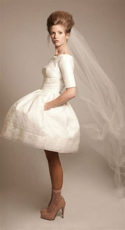 Cute Short Wedding Dresses 2015   Cinefog