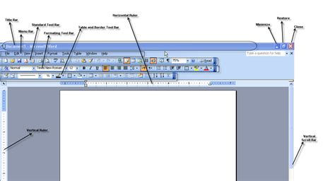 Labels With Ms Word Welcome To Learn Kit Introduction To Microsoft Word Interface