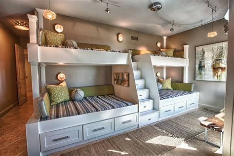 Terrific Teenagers Rooms by 50 Modern Bunk Bed Ideas For Small Bedrooms Bunk Bed