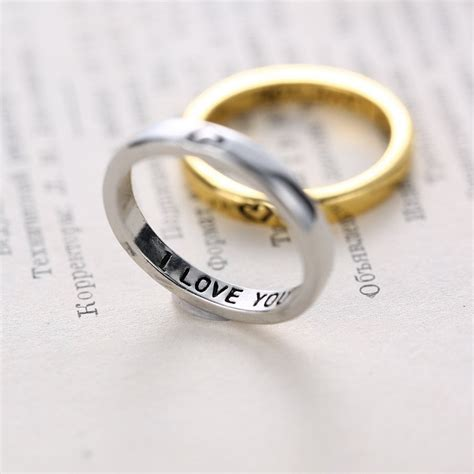 aliexpress buy gold and silver mens embossed sted aliexpress buy personalized wedding rings thin