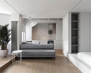 Two, Minimalist, Studio, Apartments, Making, Statements, With, Shape