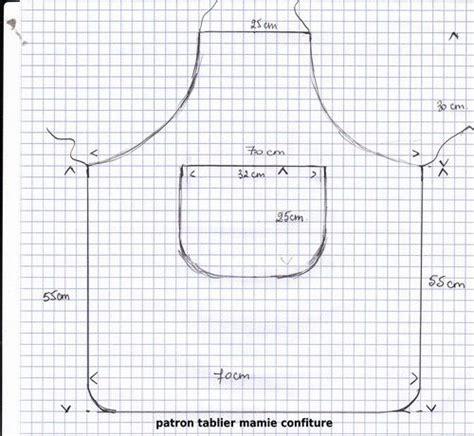 comment faire un tablier de cuisine patron tablier enfant couture tablier
