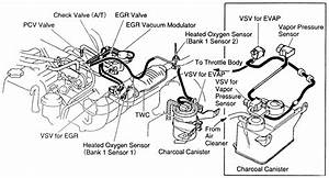1996 Toyota T100 Engine Diagram