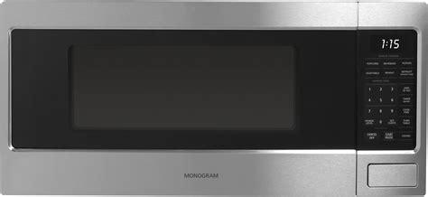 monogram zemsjss  cu ft countertop microwave oven   watts sensor cooking