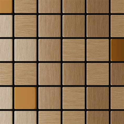 self adhesive metal tile copernic mixed copper rona