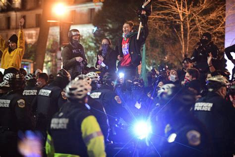 Police say groups arrived in D.C. 'intent on clashing' as ...