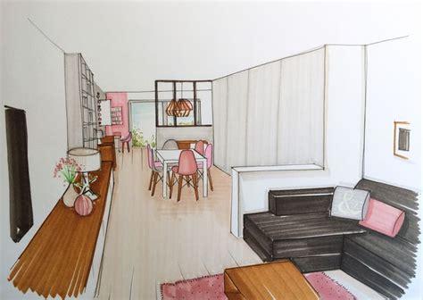 dessin en perspective d une chambre stunning chambre en perspective lineaire ideas design