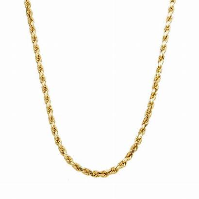 Gold Chain 14kt Rope Yellow