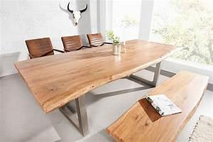 Tisch Mit Kufengestell : massive konsole mammut 140cm mit massivholz akazie 3 5cm dicke tischplatte verchromte kufenf e ~ Sanjose-hotels-ca.com Haus und Dekorationen