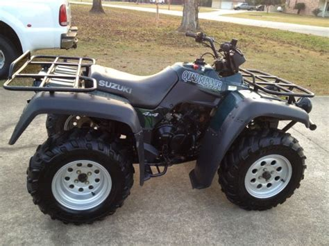 Suzuki Four Wheeler For Sale by 1999 Suzuki 500 4x4 Quadrunner Atv Four Wheeler For Sale
