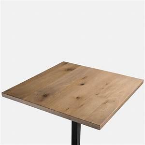 Table Plateau Bois : table bois chene massif maison design ~ Teatrodelosmanantiales.com Idées de Décoration