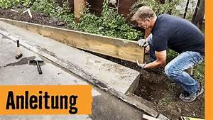 Fundament Für Carport Erstellen : streifenfundament bauen hornbach meisterschmiede youtube ~ Indierocktalk.com Haus und Dekorationen