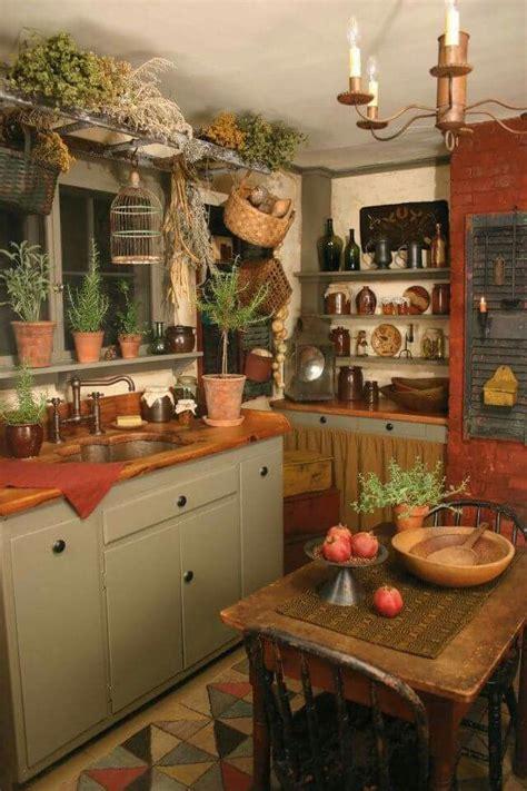 primitive kitchen images  pinterest prim