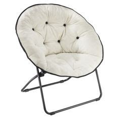 mainstays faux fur saucer chair multiple colors chairs