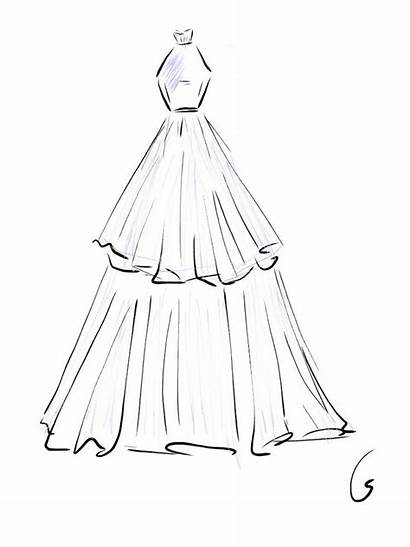 Sketches Drawing Easy Simple Drawings Clothing Designs