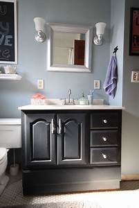 bathroom vanity makeover with chalk paint decor adventures With chalk paint in bathroom