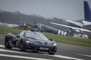 2014 Mclaren P1 Black Front Three Quarter In Motion 05 ...
