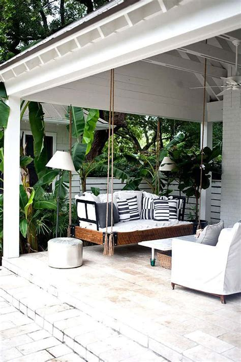 ideas porch swing  endless outdoor relaxation