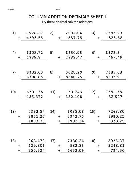 Math Worksheet For Kids Math Best Free Printable Worksheets