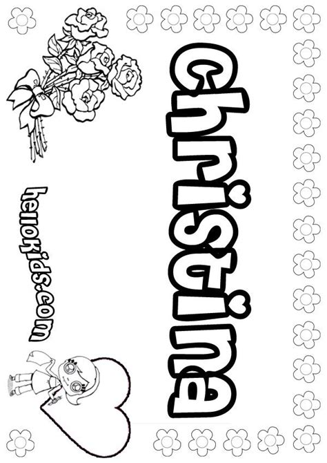 christina coloring page coloring pages  coloring