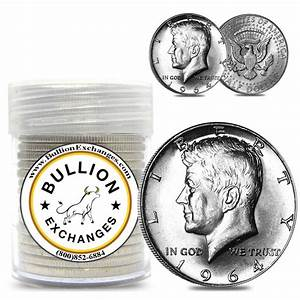 10 Face Value 1964 Kennedy Half Dollars Silver Bullion
