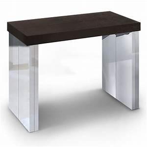 Table à Manger Contemporaine : table a manger wenge but ~ Teatrodelosmanantiales.com Idées de Décoration
