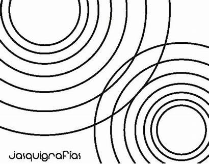 Colorear Para Circles Coloring Linked Mandala Dibujo