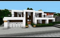 HD wallpapers maison moderne de luxe minecraft regmcom.online
