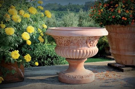vasi giardino terracotta cotto d impruneta vasi in terracotta vasi artigianali