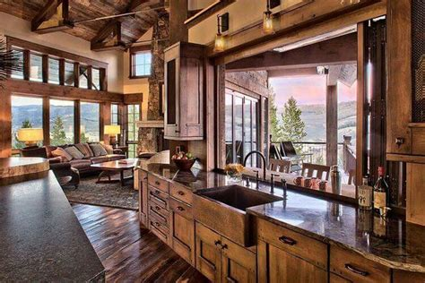 popular colors for kitchens 25 best ideas about rustic cabin kitchens on 4315