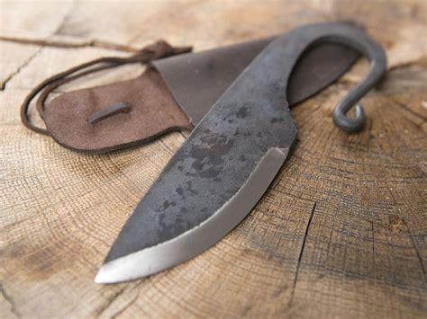 Couteau Viking Et Fourreau En Cuir  La Boutique Médiévale