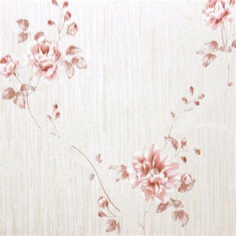 papel de parede italiano floral rosa antigo para quarto e