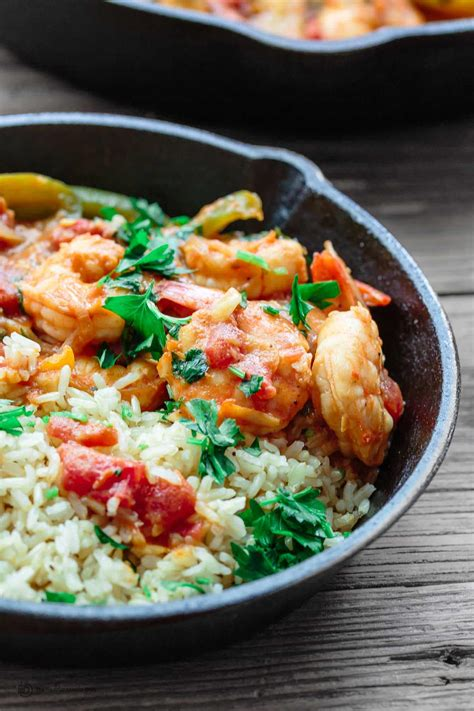 easy seafood recipes mediterranean shrimp and rice