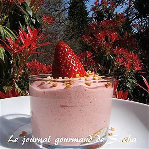 jatte cuisine recette de verrines de bavarois aux fraises