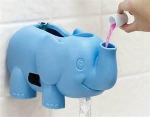 Ellie Bubble Bath Spout Gard Dispenses Bubble Bath For