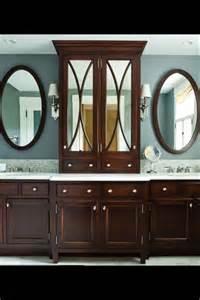 master bathroom cabinet ideas mirrored cabinet in master bath arch designs