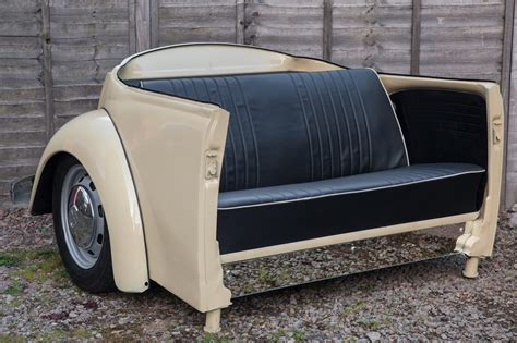 VW Beetle sofa and table « Engine Coffee Tables UK