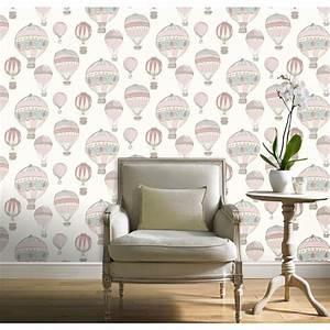 Grandeco Hot Air Balloon Wallpaper at Homebase.co.uk