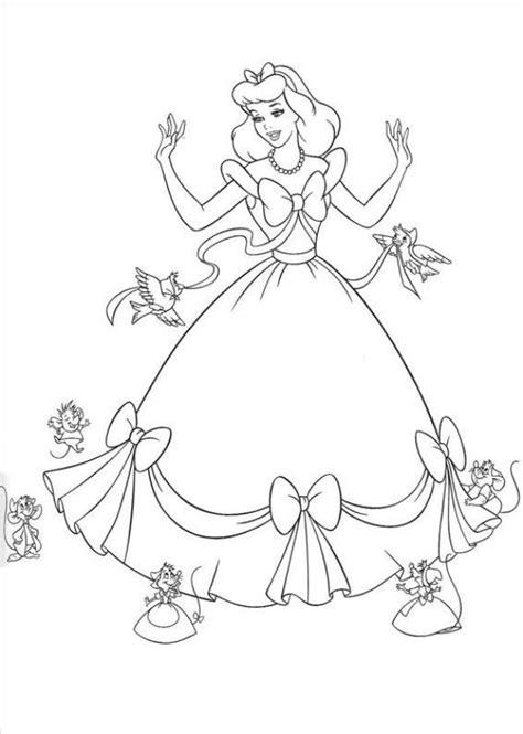 Gratis Kleurplaat Prinses by Kleuren Nu Prinses Assepoester 2 Kleurplaten