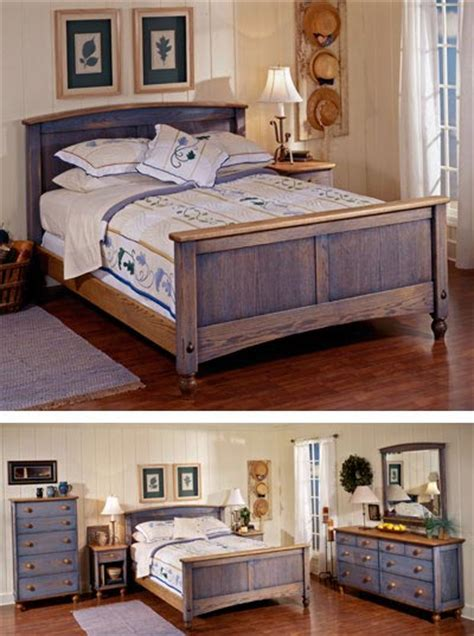 Bedroom Set Plans by Country Fresh Solid Oak Bed Woodworking Plan From Wood