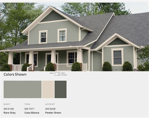 exterior color schemes in favorite brick homes choosing