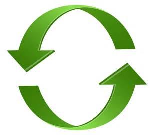 Green Arrow Circle Clip Art