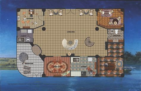 Jay Gatsby's House On Long Island By Stephanie Czayka At