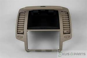 2006 Nissan Altima Radio Dash Trim Bezel With Vents And Storage