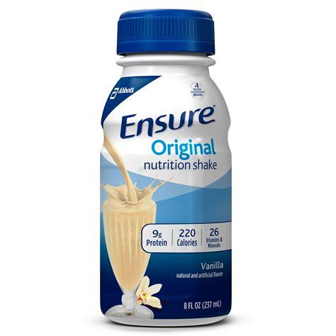 Amazon.com: Ensure Original Nutrition Shake, Milk