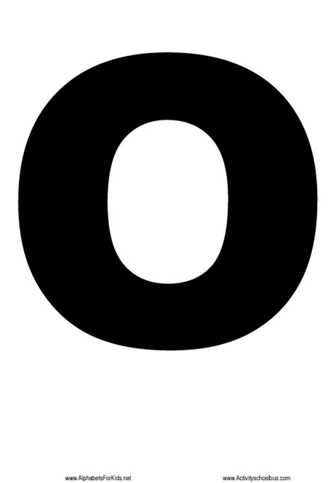 printable letters o letter o printable http alphabetsforkids net 455